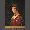 达芬奇 美丽的费维尼埃 44X62公分