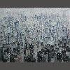 张小华 《城市系列之二》 (150x120公分)
